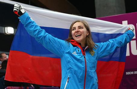 Российская спортсменка Елена Никитина.