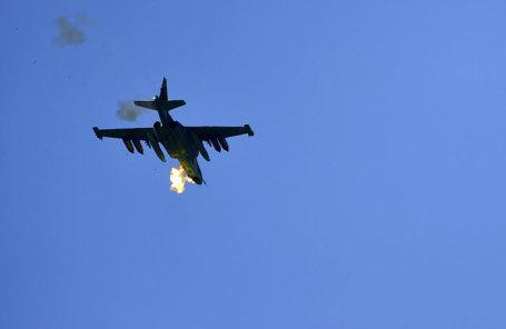 Штурмовик Су-25.