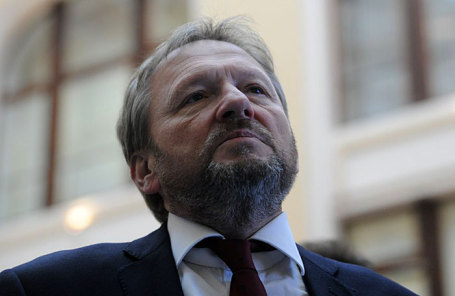 Уполномоченный при президенте РФ по защите прав предпринимателей, кандидат от Партии роста Борис Титов.
