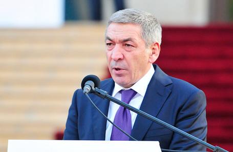 Временно исполняющий обязанности председателя правительства Республики Дагестан Абдусамад Гамидов.