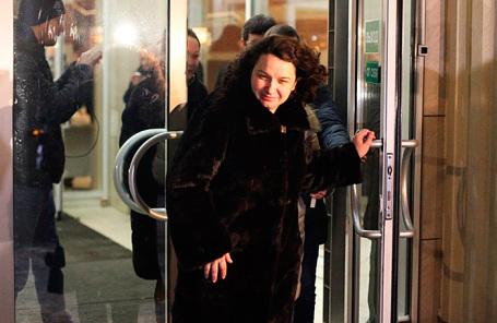 Врач-гематолог Елена Мисюрина, освобожденная из-под стражи Мосгорсудом.