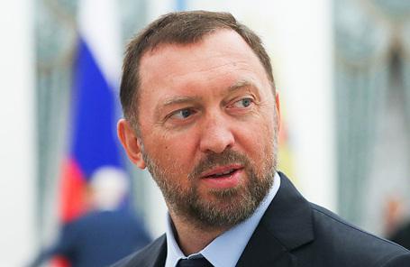 Президент компании «Русал» и председатель набсовета холдинга «Базовый элемент» Олег Дерипаска.