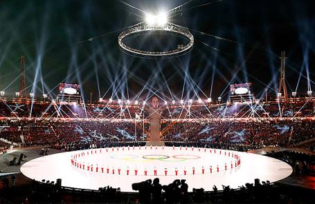 Церемония открытия XXIII зимних Олимпийских игр-2018.