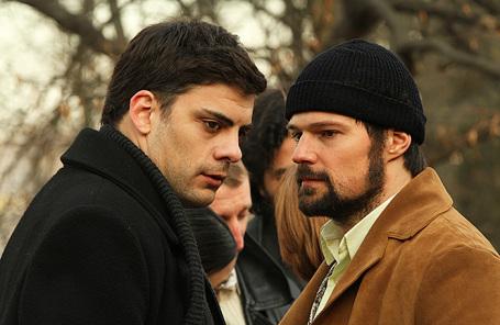 Кадр из фильма «Довлатов».