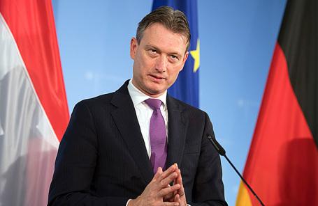 Министр иностранных дел Нидерландов Халбе Зейлстра.