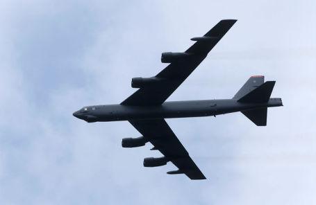 Стратегический бомбардировщик B-52.
