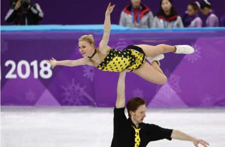 Владимир Морозов и Евгения Тарасова.