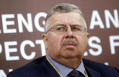 Бывший руководитель Федеральной таможенной службы РФ Андрей Бельянинов.
