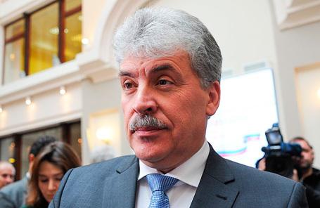 Директор Совхоза им. Ленина Павел Грудинин.