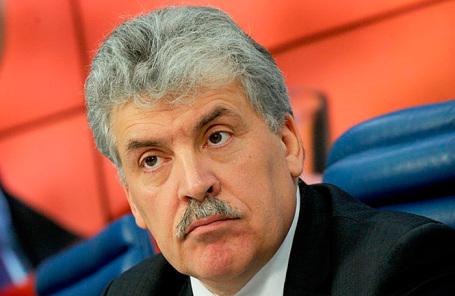 Кандидат в президенты России от КПРФ Павел Грудинин.