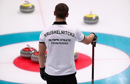 Олимпийский спортсмен из России Александр Крушельницкий.