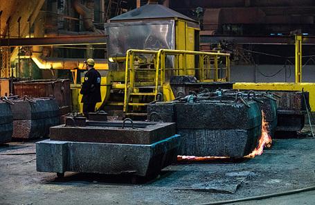 Медный завод горно-металлургической компании «Норильский никель».