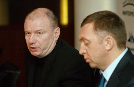 Владимир Потанин и Олег Дерипаска.
