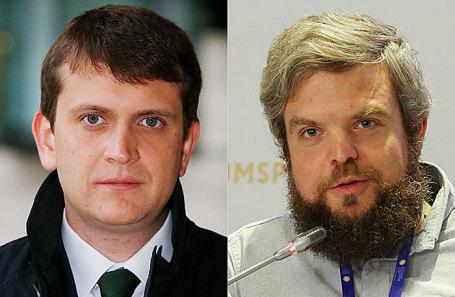 Иван Таврин и Борис Акимов (слева направо).