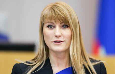 Первый заместитель председателя комитета Госдумы РФ по международным делам Светлана Журова.