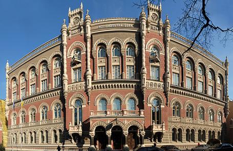 Здание Нацбанка Украины.