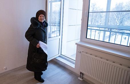 Кваритира в первом доме, готовом к заселению по программе реновации.