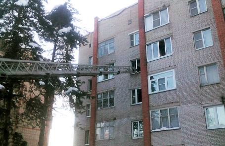 Многоэтажный жилой дом на улице Кирова в Раменском, где возник пожар.