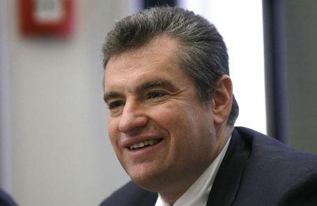 Председатель комитета Госдумы по международным делам Леонид Слуцкий.
