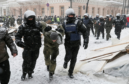 Протесты в Киеве.