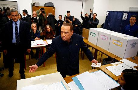 Экс-премьер Италии Сильвио Берлускони.