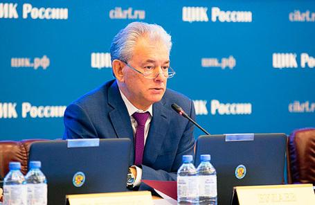 Заместитель председателя Центральной избирательной комиссии Николай Булаев.
