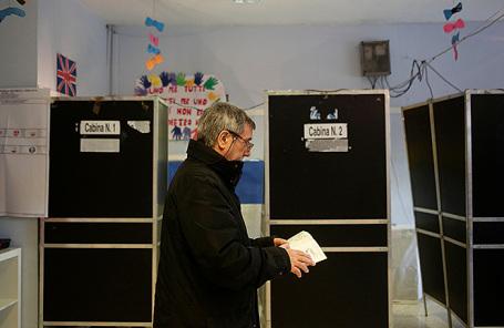 Выборы в Италии.