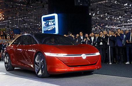 Volkswagen I.D. Vizzion.