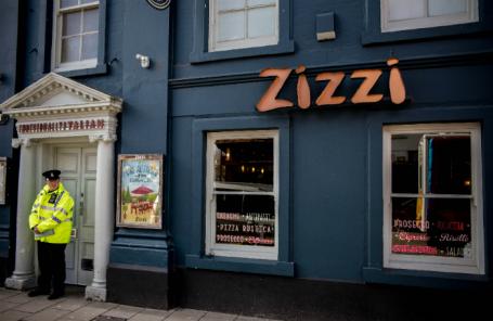 Кафе, в котором, предположительно, пообедали Сергей Скрипаль и его дочь перед тем, как их нашли.