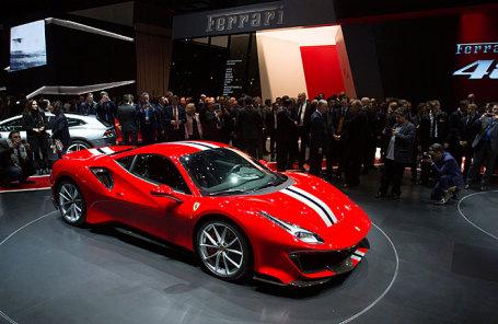 Ferrari 488 Pista.