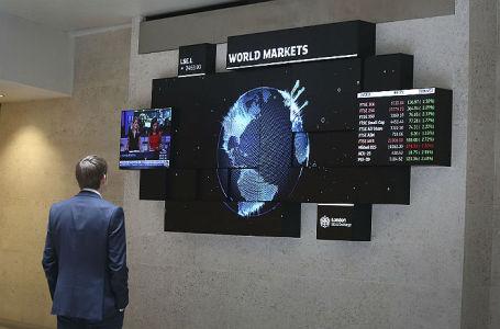 Ситуация на Лондонской фондовой бирже.