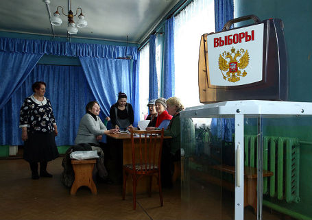 Подготовка избирательных участков в Владимирской области к выборам президента РФ.