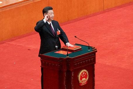 Си Цзиньпин переизбран на должность председателя КНР.