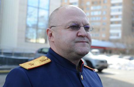 Руководитель столичного главка Следственного комитета генерал Александр Дрыманов.