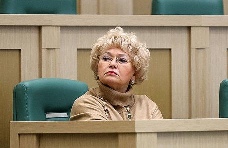 Людмила Нарусова.