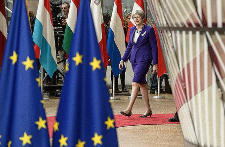 Тереза Мэй на саммите ЕС в Брюсселе.