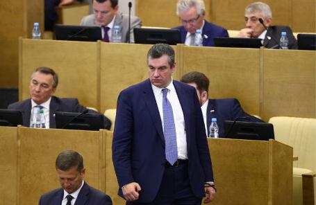 Председатель комитета по международным делам Госдумы РФ Леонид Слуцкий.
