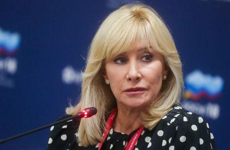 Телеведущая, заместитель председателя комитета Госдумы РФ по вопросам семьи, женщин и детей Оксана Пушкина.