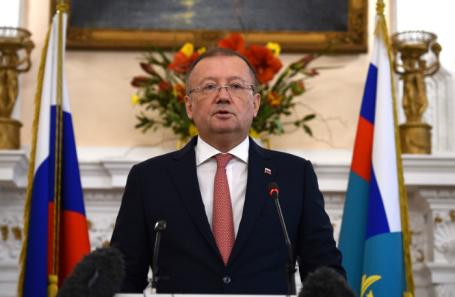 Пресс-конференция посла РФ в Великобритании Александра Яковенко по делу Скрипаля.