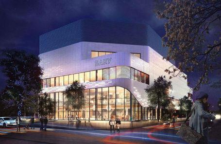 Проект реконструкции кинотеатра «Баку».