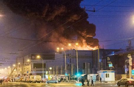 Пожар в торговом центре «Зимняя вишня» в Кемерове, 25 марта 2018 года.