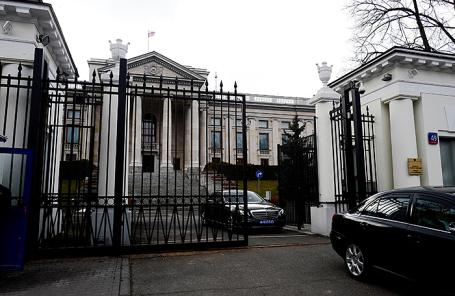 Посольство России в Варшаве.