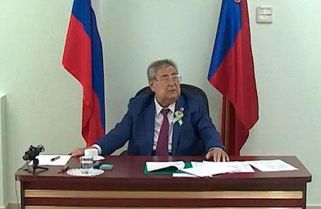 Аман Тулеев.