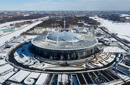 Стадион «Санкт-Петербург».
