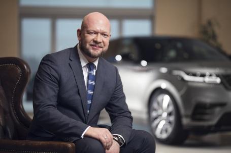 Генеральный директор Jaguar Land Rover Россия Вячеслав Кузяков