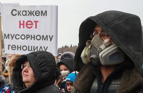 Граждане  деревни вПодмосковье перекрыли федеральную дорогу  взнак протеста