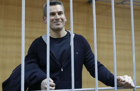 Совладелец группы «Сумма» Зиявудин Магомедов в Тверском суде.