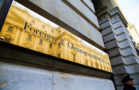Здание Министерства иностранных дел и по делам Содружества в Лондоне.