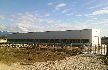Завод по производству полимерных труб и сопутствующих изделий компании «Соцпромстрой» в Абхазии.