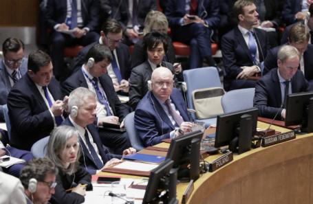 Заседание Совбеза ООН.